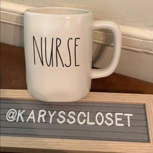 Rae Dunn mug NURSE